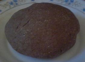 Impasto di farina di grano saraceno e cacao